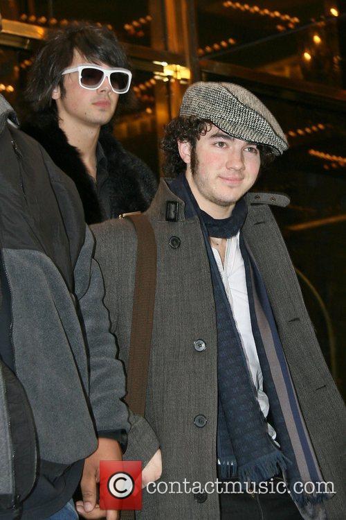 Joe Jonas and Kevin Jonas American pop rock...