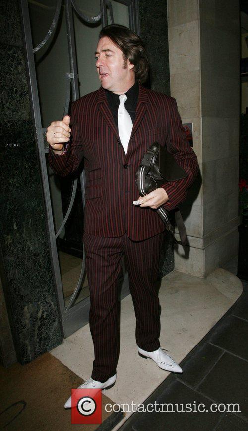 Jonathan Ross leaving his hotel London, England