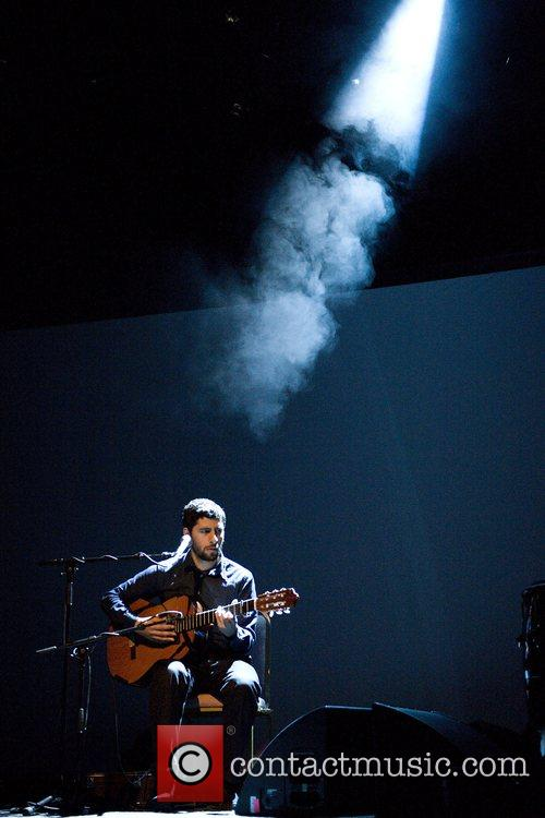 Jose Gonzalez performing live at the Shepherd's Bush...