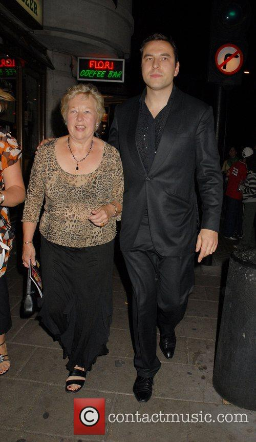 Leaving the afterparty for the musical, 'Joseph and...