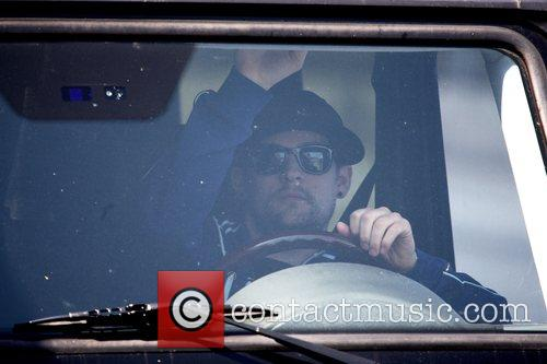 Joel Madden drives his brother to LAX airport...