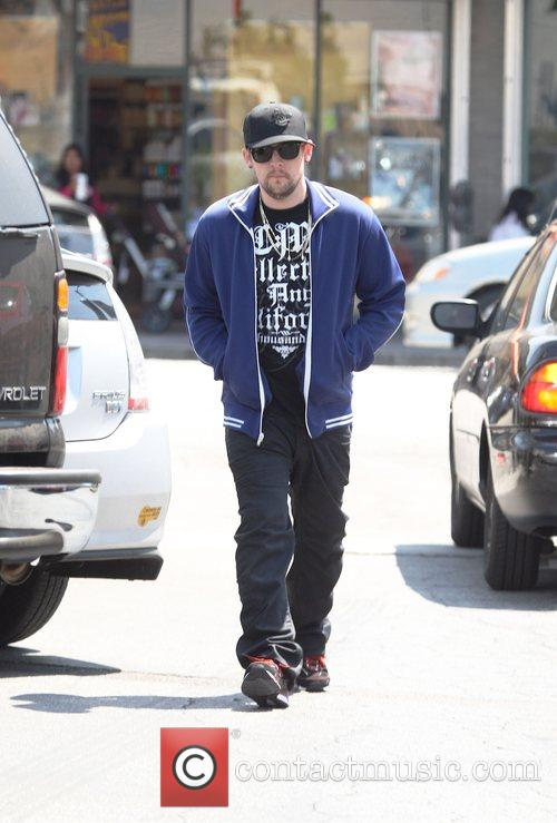 Joel Madden leaving Starbucks to take his brother...