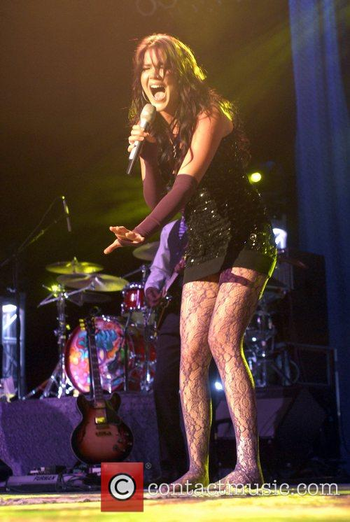 Joss Stone performing live at the Greek Theatre