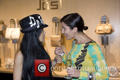 Moon Suk and Kerstin Linnartz At the opening...