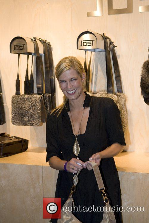 Verena Wriedt At the opening of the Jost...