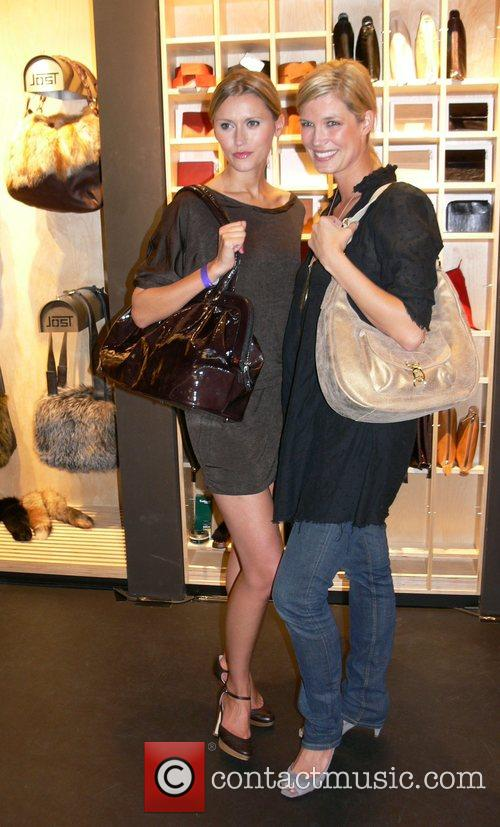 Yvonne Hoelzel and Verena Wriedt Jost Store Opening...