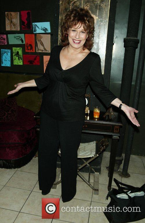 Joy Behar after her comedy act held at...