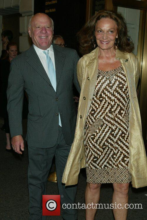 Barry Diller and Diane Von Furstenberg 1