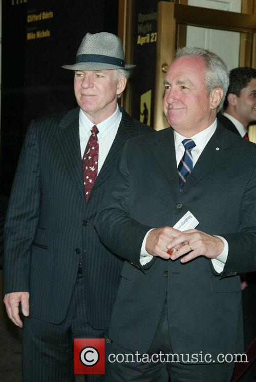 Steve Martin and Lorne Michaels 1