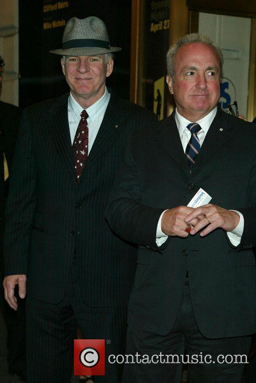 Steve Martin and Lorne Michaels 2