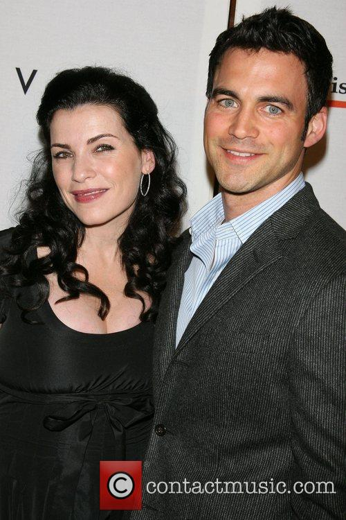 * MARGULIES WEDS Pregnant actress JULIANNA MARGULIES has...