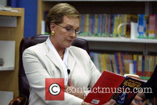Dame Julie Andrews reads from her 2006 book...