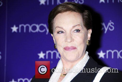 Julie Andrews signs copies of her new book...