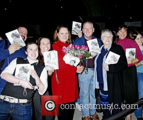 Fans of Julie Andrews come to see her...