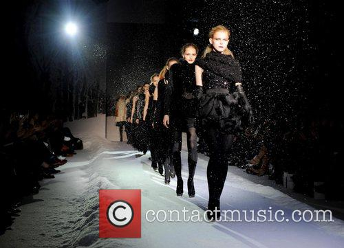 Models London Fashion Week Autumn/Winter 2008 - Julien...