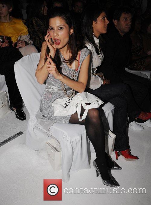 Nastassia Scarlet Malthe London Fashion Week Autumn/Winter 2008...