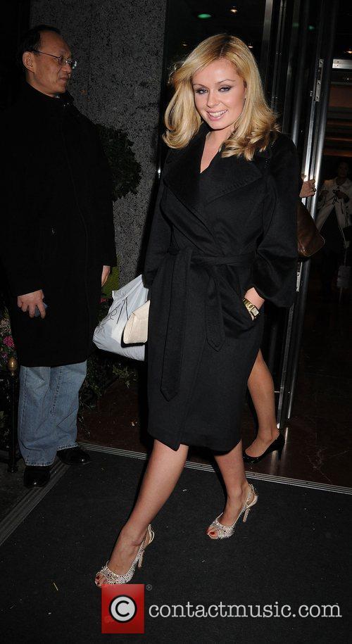 Katherine Jenkins London Fashion Week Autumn/Winter 2008 -...