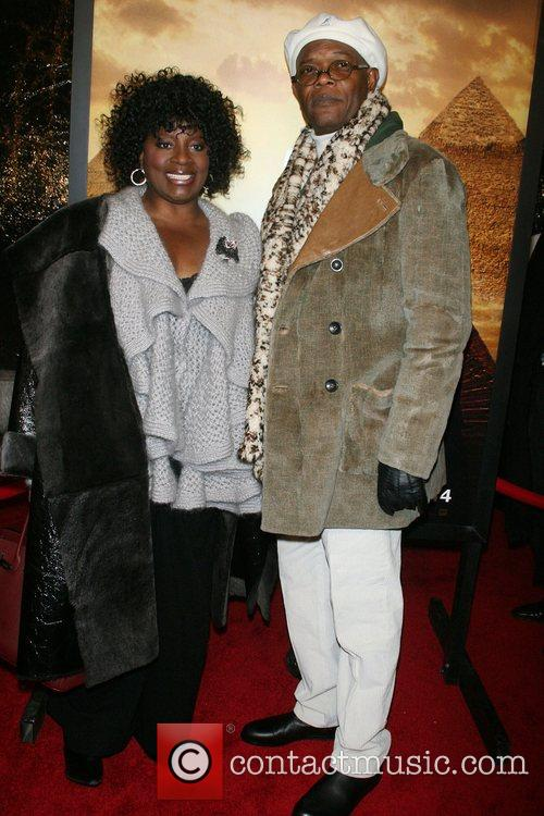 Samuel L Jackson, Latanya Richardson New York Premiere...