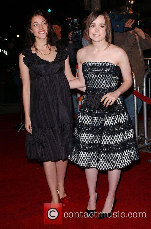 Olivia Thirlby and Ellen Page Premiere of 'Juno'...