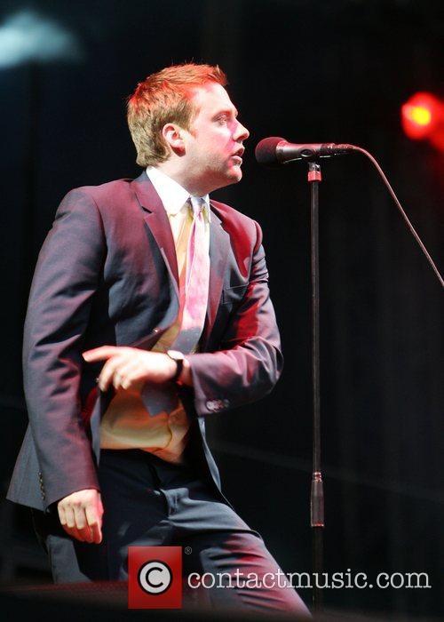 Kaiser Chiefs performing at their homecoming gig at...
