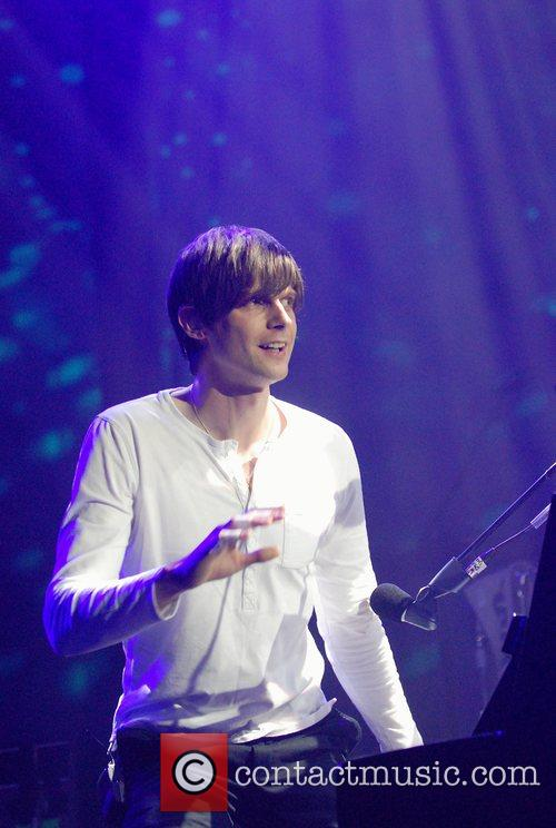 Kaiser Chiefs perform live during the Electric Proms...