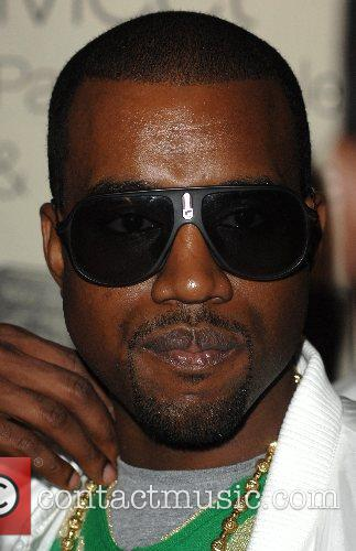 Kanye West at the book signing for his...