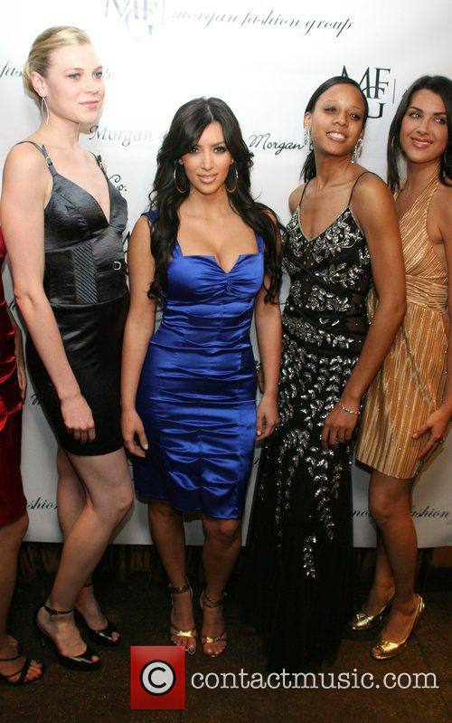 Kim Kardashian and models 4