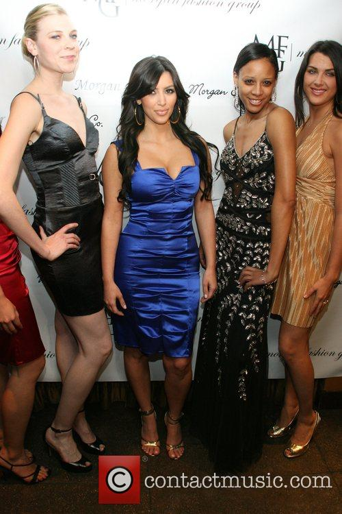 Kim Kardashian and Models 6