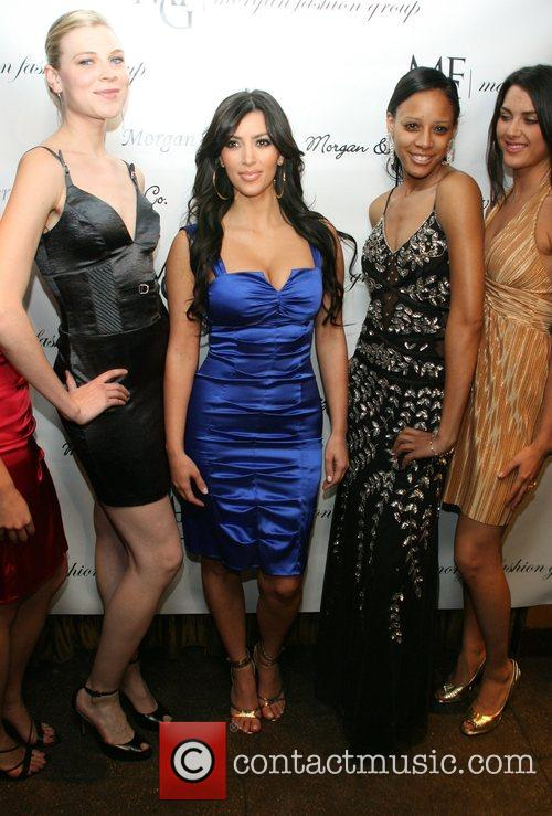 Kim Kardashian and Models 2