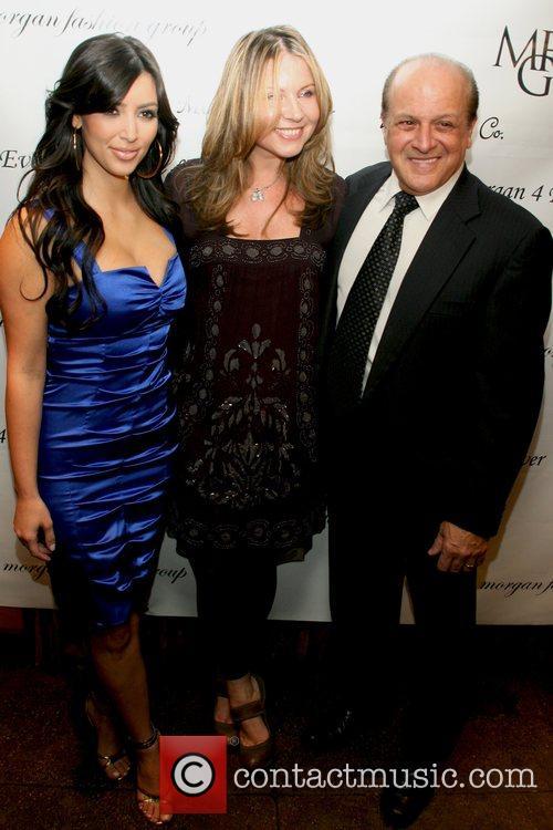 Kim Kardashian, Marina Bresler and Tony Ardito 10