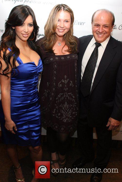 Kim Kardashian, Marina Bresler and Tony Ardito 3
