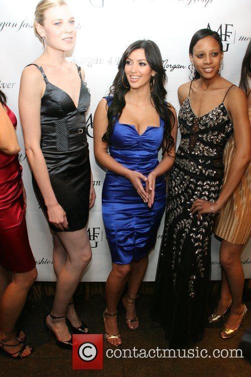 Kim Kardashian and models 1