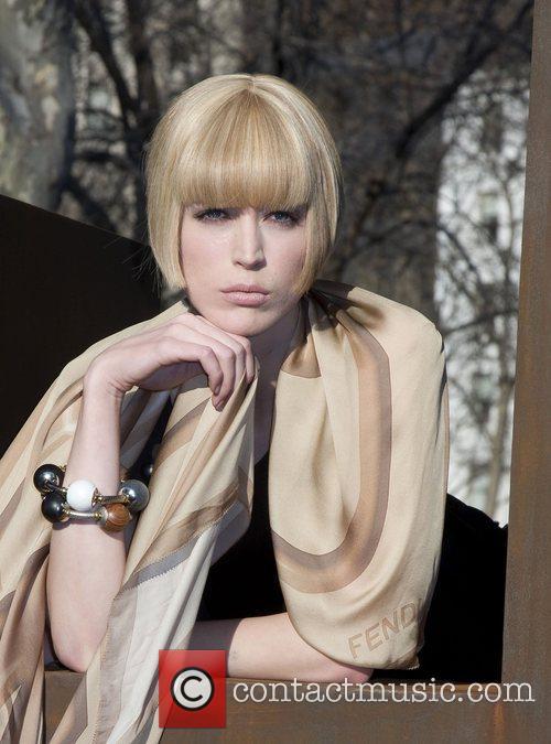 Raquel Zimmerman Fashion designer and photographer Karl Lagerfeld...