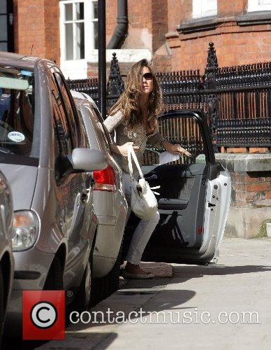 Kate Middleton leaving her home to go to...