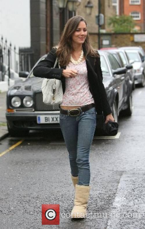 Kate Middleton leaving her house London, England