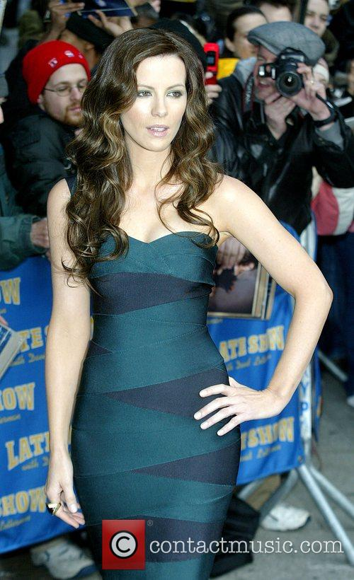 Kate Beckinsale and David Letterman 19