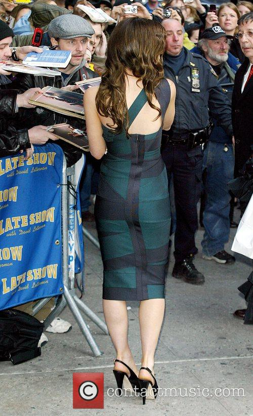 Kate Beckinsale and David Letterman 15