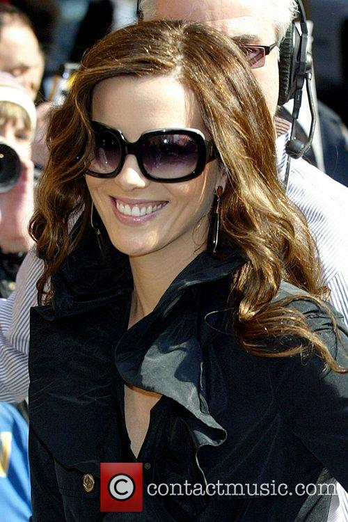 Kate Beckinsale and David Letterman 22