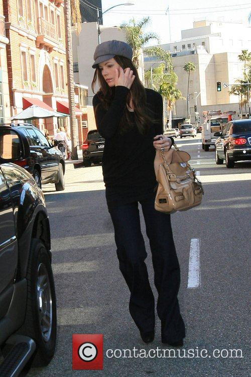 Kate Beckinsale leaving a medical center in Beverly...