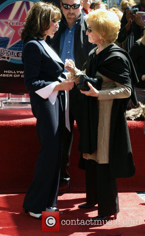 Kate Linder and Carol Conners Kate Linder of...