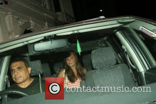 Kate Middleton leaving Mahiki alone
