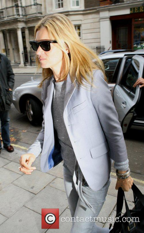 Arriving at the restaurant Cipriani for a business...
