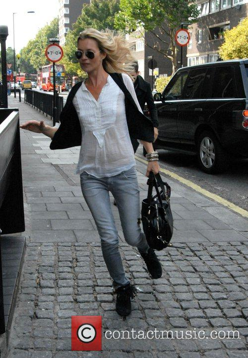 Kate Moss on her way to have lunch...