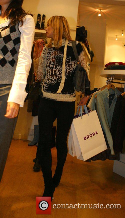 Kate Moss shopping for her winter wardrobe in...