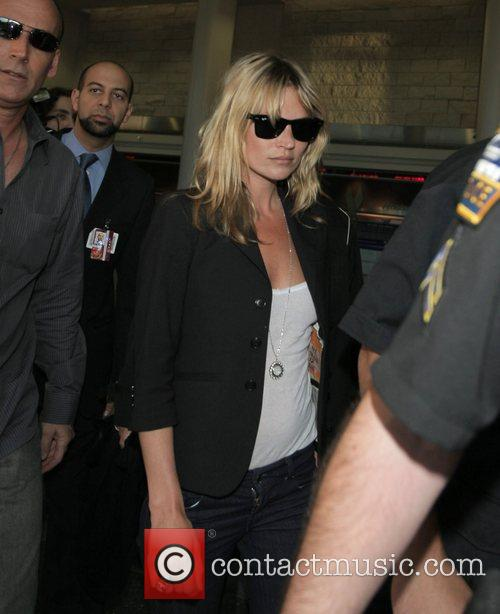 Kate Moss arrives at LAX airport Los Angeles,...