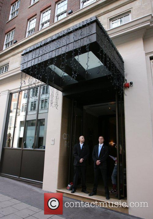 Mayfair Bar exterior Kate Moss heads to the...