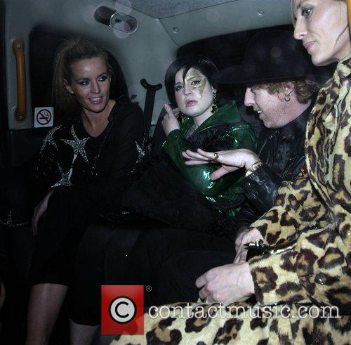 Davinia Taylor, Kate Moss and Kelly Osbourne 4