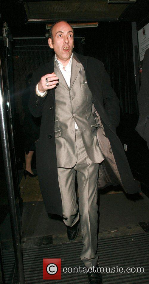 Guest leaving Punk nightclub after celebrating at Kate...