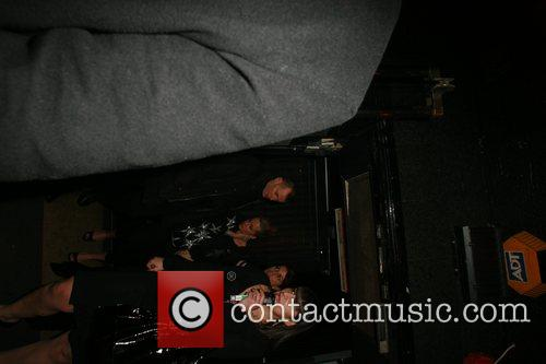leaving Punk nightclub after celebrating at Kate Moss...