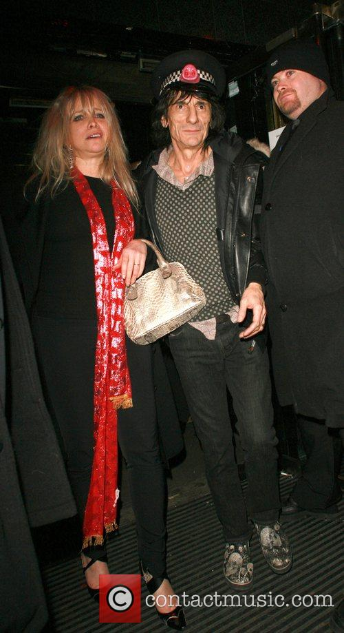 Ronnie Wood and Kate Moss 8
